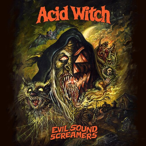 Acid Witch - Evil Sound Screamers (Uk)