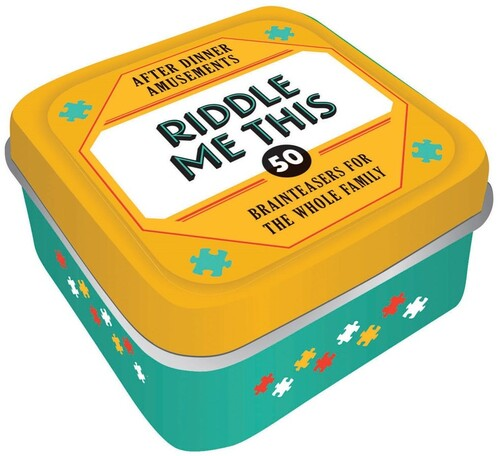 - After Dinner Amusements: Riddle Me This