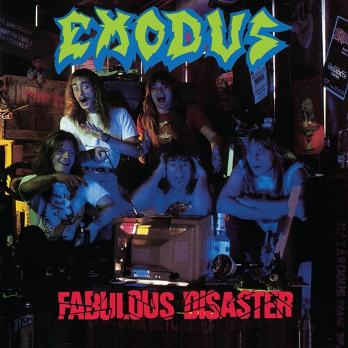 Exodus - Fabulous Disaster [Indie Exclusive Limited Edition LP]