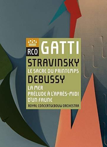 Stravinsky: Le Sacre Du Printemps /  Debussy: La Mer /  Prelude AL'Apres-Midi D'Un Faune [Import]