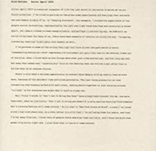 Brad Mehldau - Suite: April 2020 [LP]