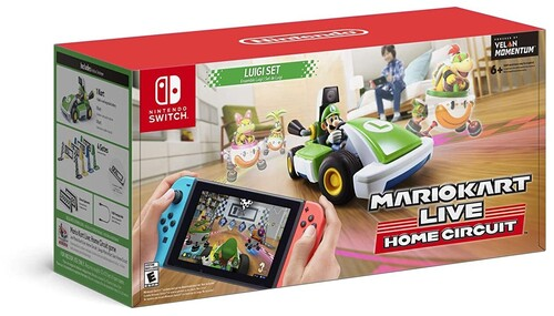 Swi Mario Kart Live: Home Circuit- Luigi Set - Mario Kart Live: Home Circuit -Luigi Set for Nintendo Switch