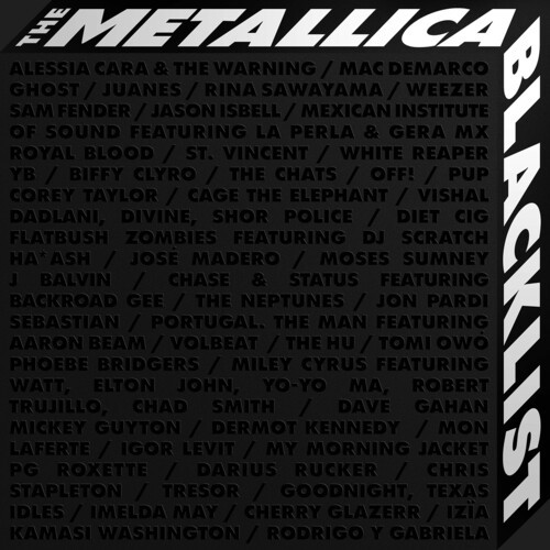The Metallica Blacklist (7LP)(Limited Edition)