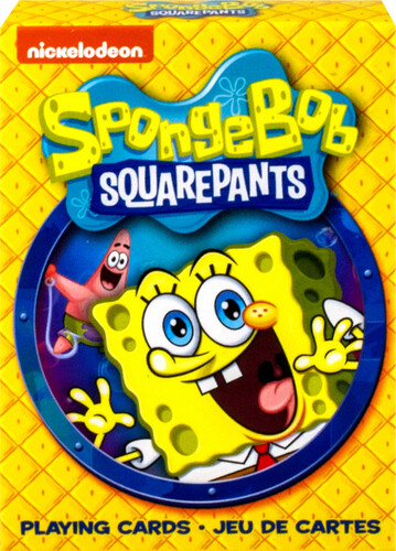 SPONGE BOB SQUARE PANTS PLAYING CARDS