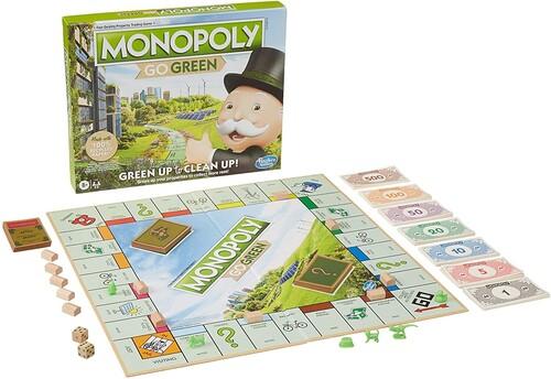 Games - Hasbro Gaming - Monopoly Goes Green