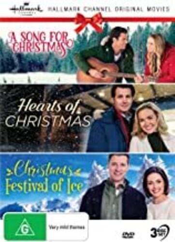 Hallmark Xmas 9: A Song For Christmas /  Hearts Of Christmas / Christmas Festival Of Ice [NTSC/ 0] [Import]