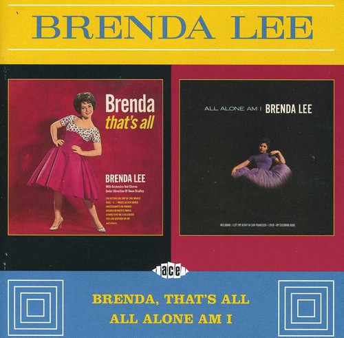 Brenda That's All /  All Alone Am I [Import]