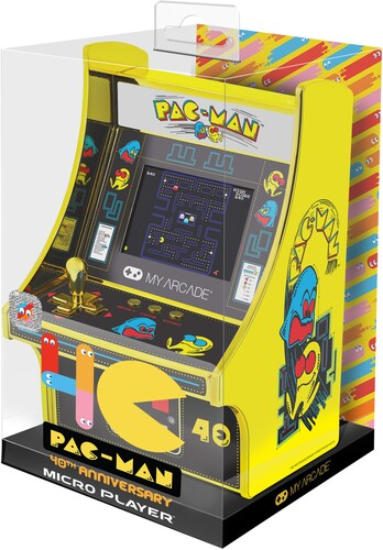 My Arcade Pacman 40th Anniversary Gold Ed Mini - PacMan 40th Anniversary Gold Edition Mini Arcade