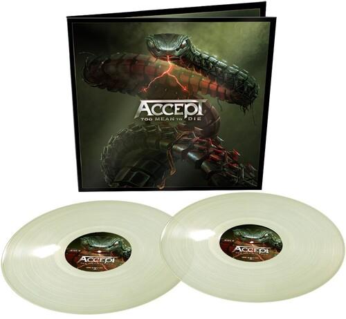 Accept - Too Mean To Die (Glow In The Dark Vinyl) [Colored Vinyl]