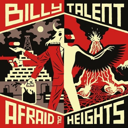 Billy Talent - Afraid Of Heights (Blk) [180 Gram] (Hol)