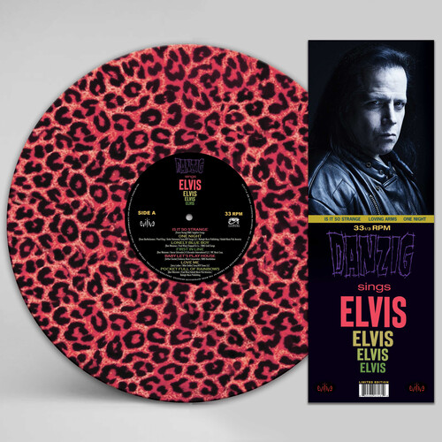 Danzig - Sings Elvis - A Gorgeous Pink Leopard Picture Disc