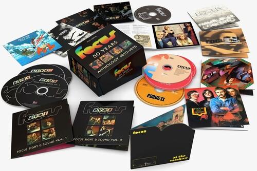 Focus - 50 Years Anthology 1970-1976 (9cd+2dvd Pal Reg 0)