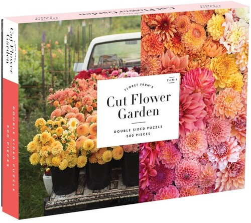 - Floret Farm's Cut Flower Garden 2-sided 500 Piece Puzzle