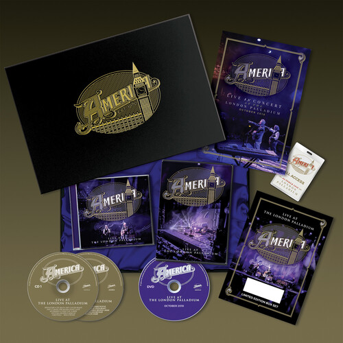 Live At The Palladium (Ltd Deluxe Box Set incl. DVD (NTSC Reg 0), FullColor 24-pg Book & Signed & Numbered Certificate) [Import]