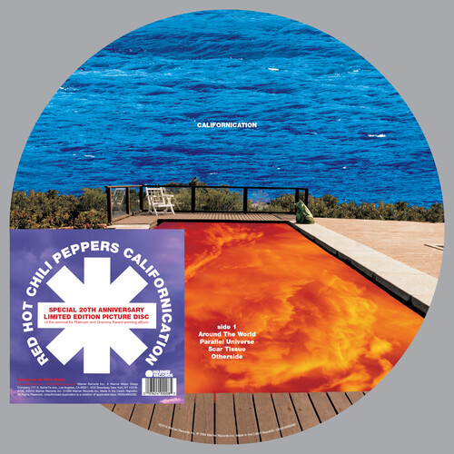 Red Hot Chili Peppers - Californication [Picture Disc 2LP]