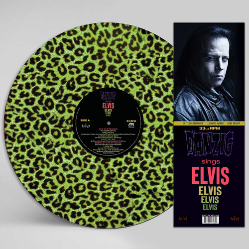 Danzig - Sings Elvis - A Gorgeous Green Leopard Picture