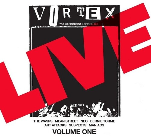 Live At The Vortex (Various Artists)