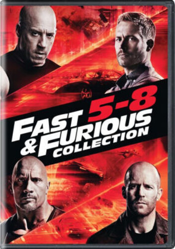 Fast & Furious Collection: 5-8