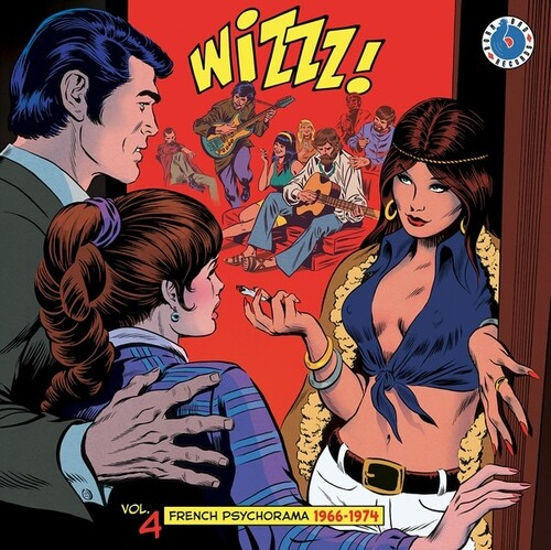 WIZZZ French Psychorama Volume 4 (Various Artists)