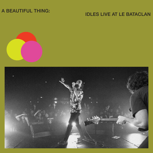 Idles - A Beautiful Thing: IDLES Live at Le Bataclan [Neon Clear Lime Green 2LP]