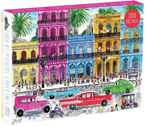 - Michael Storrings Cuba 1000 Piece Puzzle