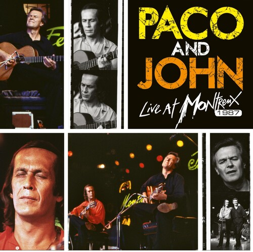 De Paco Lucia - Paco And John Live At Montreux 1987 [Colored Vinyl] [Limited Edition]