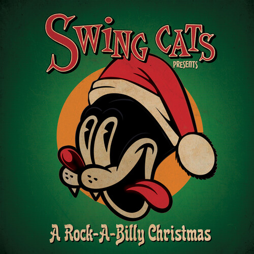 Danny Harvey B / Twinn,Gary - Swing Cats Presents A Rockabilly Christmas [Limited Edition Red LP]
