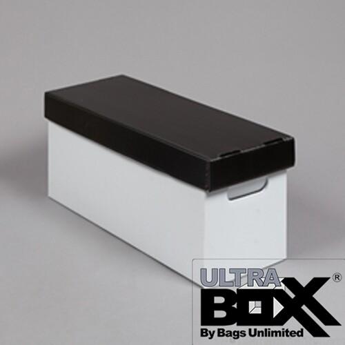 BU X45225CP 45 RPM STORAGE BOX PLASTIC WHITE/ BLACK