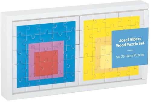 - MoMA Josef Albers Wood Puzzle Set
