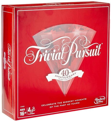 TRIVIAL PURSUIT 40TH ANNIVERSARY RUBY ED