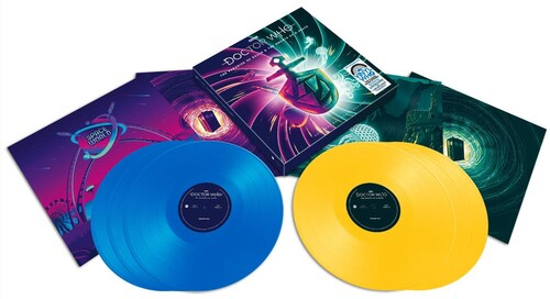 Paradise Of Death & The Ghosts Of N-Space (Soundtrack) [HeavyweightBlue & Yellow Colored Vinyl] [Import]