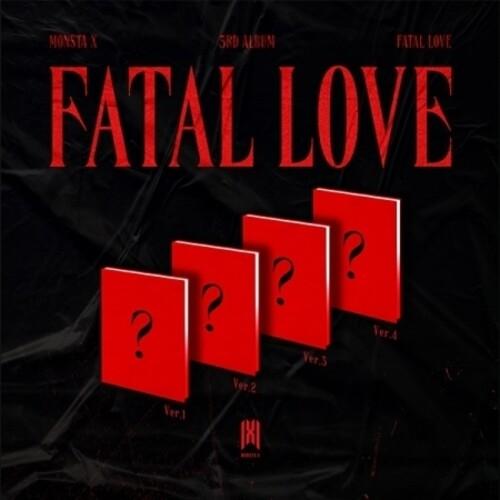 Monsta X - Fatal Love (Stic) (Phob) (Phot) (Asia)