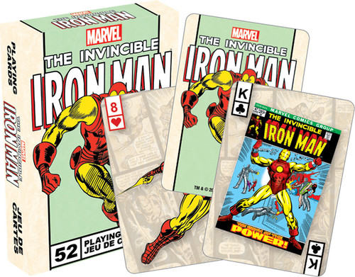 MARVEL- IRON MAN PLAYING CARDS DECK