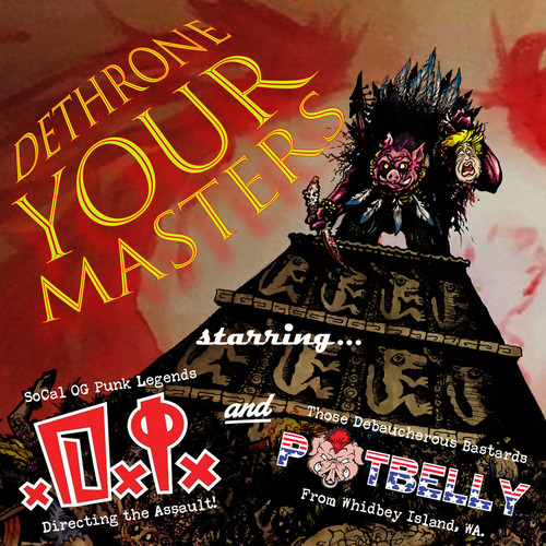 DI / Potbelly - Dethrone Your Masters Split Ep