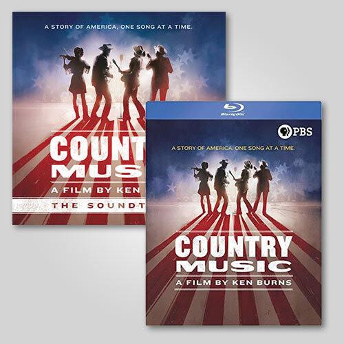 Ken Burns Country Music 2 CD /  8 Blu-ray Bundle