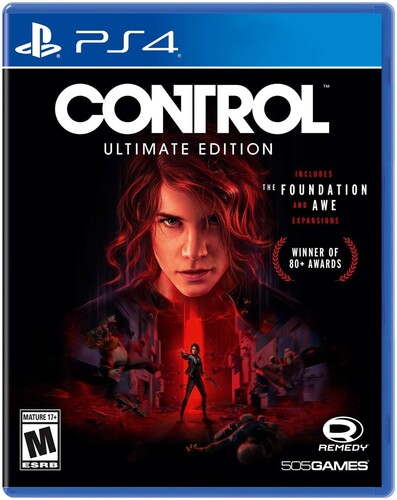 Ps4 Control - Ultimate Edition - Control - Ultimate Edition for PlayStation 4