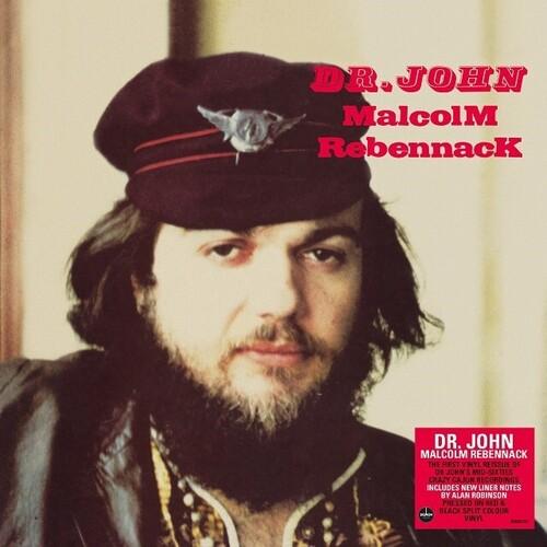 Dr John - Malcolm Rebenneck [140-Gram Red & Black Colored Vinyl]