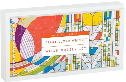 - Frank Lloyd Wright Wood Puzzle Set