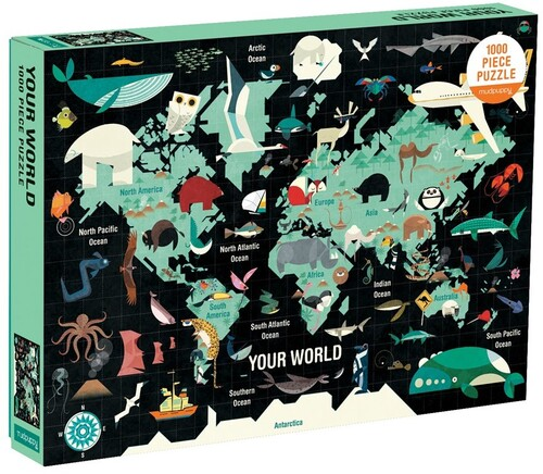 - Map of the World 1000 Piece, Family Puzzle