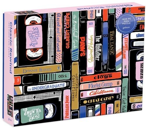 Galison / Robertson, Bethany - Classic Rewind 1000 Piece Foil Puzzle