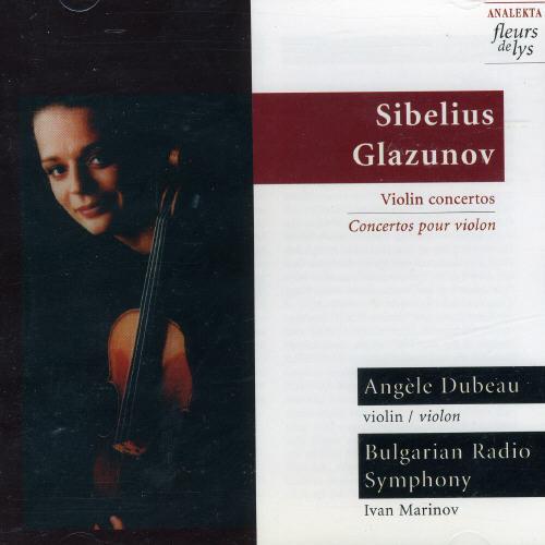 Plays Sibelius/ Glazunov