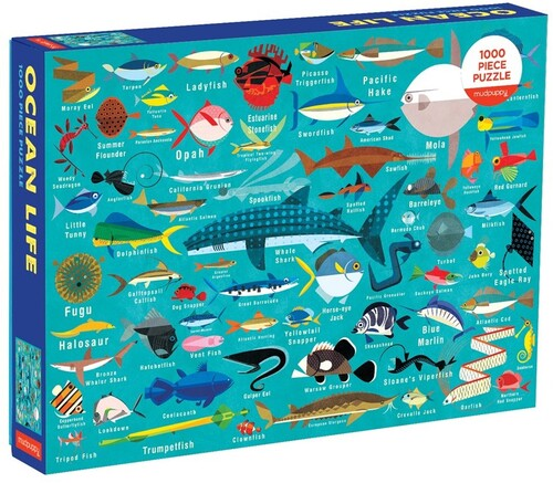- Ocean Life 1000 Piece, Family Puzzle
