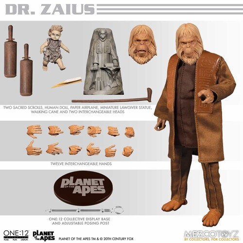 ONE:12 COLLECTIVE PLANET OF THE APES 68: DR. ZAIUS