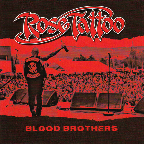 Rose Tattoo - Blood Brothers (Red Vinyl) [Colored Vinyl] (Gate) [Limited Edition]