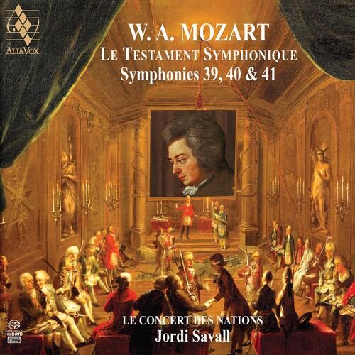 Mozart: Symphonies No.39, 40 & 41