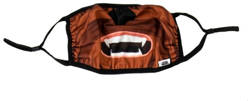 STAR WARS CHEWBACCA ADULT ADJUSTABLE FACE COVER
