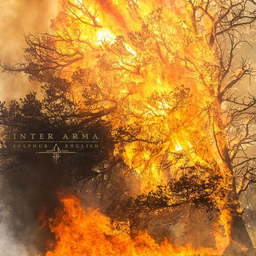 Inter Arma - Sulphur English [Indie Exclusive Limited Edition Milky Clear with Aqua Blue and Bone White LP]