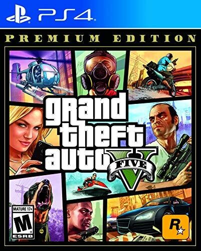 - Grand Theft Auto V Premium Online Edition for PlayStation 4 StandardEdition