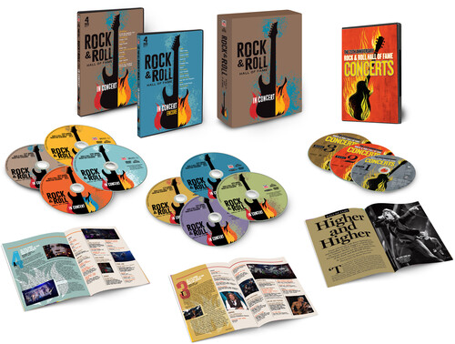 Rock & Roll Hall Of Fame - Rock And Roll Hall Of Fame In Concert [Box Set]