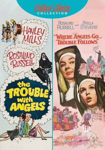 Rosalind Russell Family Favorites Double Feature (The Trouble With Angels /  Where Angels Go Trouble Follows)